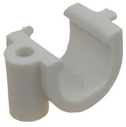 Скобы пластиковые для крепления проводов