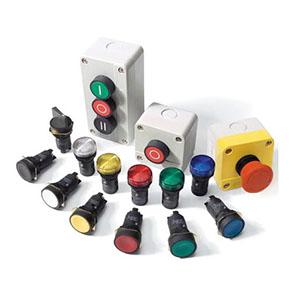 Светосигнальная арматура, кнопки управления и переключатели
